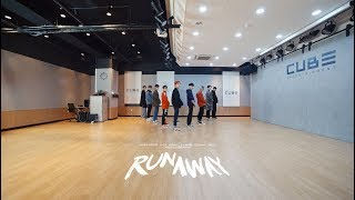 PENTAGON - 'RUNAWAY' ( Dance Practice Video)