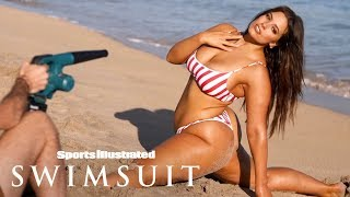 Ashley Graham Gets Flexible, Teaches You How To Balance | Candids | Sports Illustrated Swimsuit