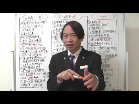 竹内の日本史 戦略図解ボード #062 恐慌と金解禁