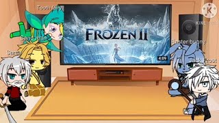 Rise of the guardians react to Frozen¦¦Gacha Club¦¦