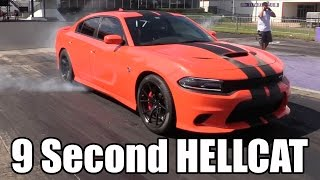 This Hellcat runs like a Demon - 9 Seconds