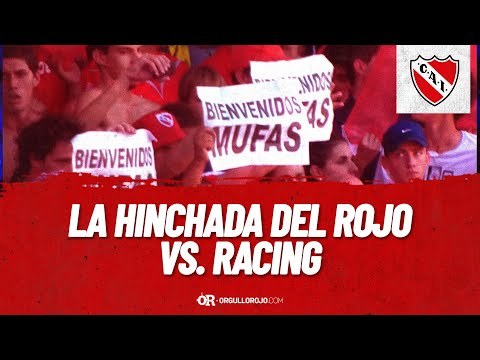 """Hinchada Independiente vs. Racing Torneo Final 2013"" Barra: La Barra del Rojo • Club: Independiente • País: Argentina"