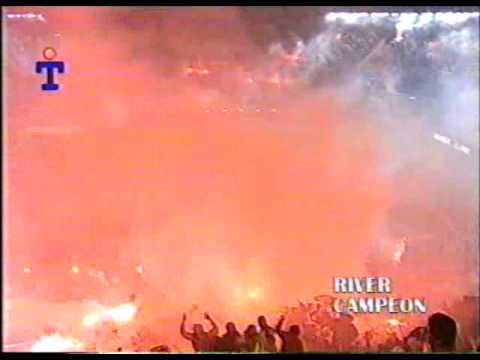 """""""Re: RIVER PLATE Recibimiento Historico (Chileno sos amargo)"""" Barra: Los Borrachos del Tablón • Club: River Plate • País: Argentina"""