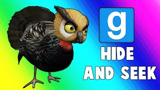 Gmod Hide and Seek Funny Moments - Turkey Troubles! (Garry