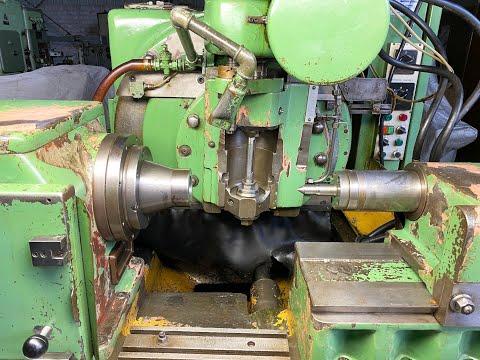 David Brown Horizontal Gear Hobbing Machine
