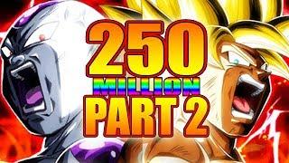 250 MILLION PART 2 CELEBRATION | LAST LR TICKET SUMMONS + JIREN EZA | #DOKKANBATTLE