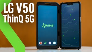 """LG V50 ThinQ 5G, Review: el BUQUE INSIGNIA de LG con DOS PANTALLAS y la CONECTIVIDAD """"del futuro"""""""