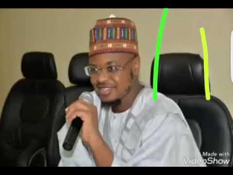 Sheikh Aliyu Isah fantami yake magana akan messages da ake sharing akan social media