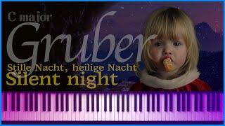 (Newage ver.) 고요한밤, 거룩한밤 Silent night (Stille Nacht, heilige Nacht) (Cmaj) - F.X.Gruber | noten - 노튼