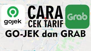 Cara Cek Tarif Go-jek dan Grab di Google Maps