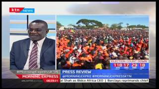 ODM's sign of peaceful elections start with the Disciplinary Committee, Analyst-Katana Kazungu