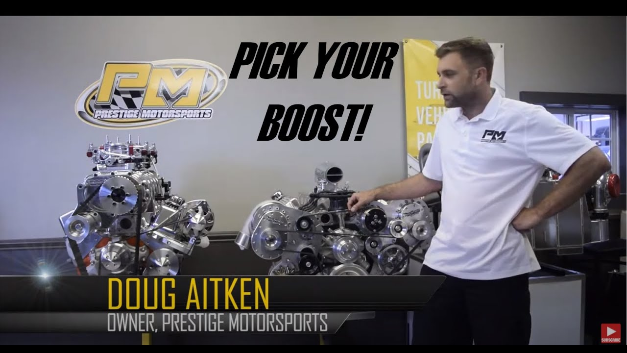 Pick Your Boost! Variety of Boosted Applications Available from Prestige Motorsports