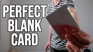 How to Make Blank Playing Cards Without Spending Money   Building Time