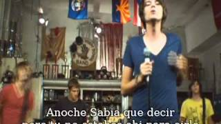 The Academy is About a Girl (subt español)video oficial