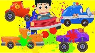 Мультики про #машинки - #Цветные Машинки для Детей  Автомастерская #Тачки - Новые #Мультфильмы 2017