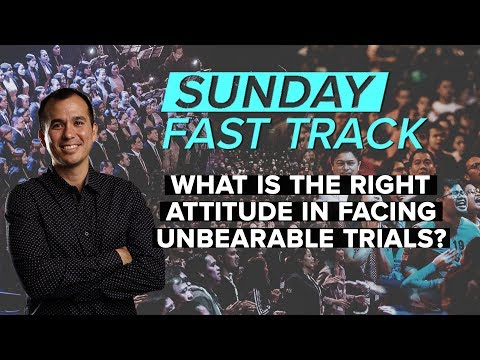 Can I Be Faithful in the Midst of Suffering? - Paul Tan-Chi - Sunday Fast Track