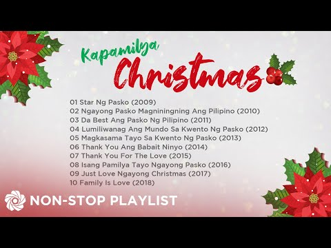 ABS-CBN Christmas Station ID (2009-2018)   Non-Stop OPM Songs ♪