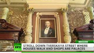 Houses walk and shops are palaces: welcome to Tverskaya Street!