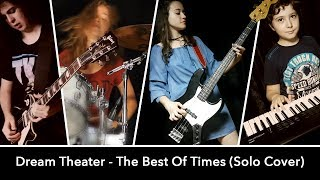 The Best Of Times SOLO (Dream Theater cover); Sina feat. Andrei Cerbu