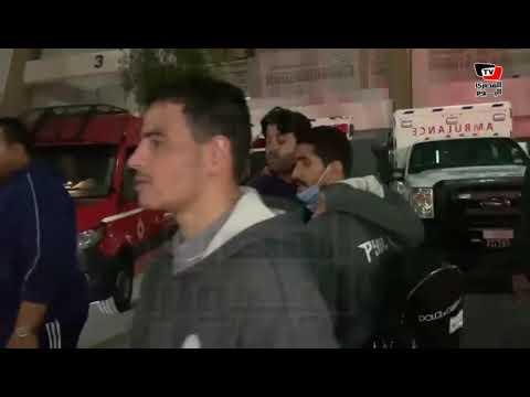 عمر جابر يخرج من ملعب مباراة نهضة بركان محمولا بعد إصابة خطيرة في القدم