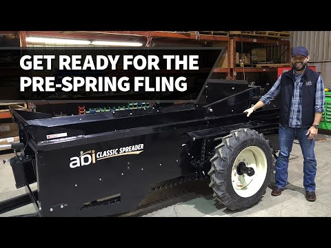 Give your spreader a Spring tune-up – ABI DIRT