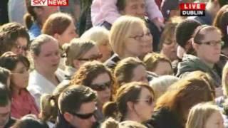 Stephen Gatelys funeral