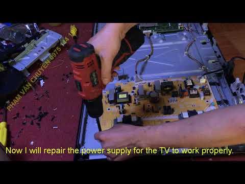 Panasonic TH-L32B6Z repair - смотреть онлайн на Hah Life