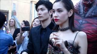 [071415] Kiko Mizuhara At The Attack On Titan World Premiere In Hollywood
