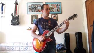ACDC - Stormy may day guitar cover