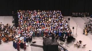 2017 Illinois All-State Honors Chorus performing Domine ad adjuvandum me festina