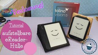 aufstellbare Hülle für eReader | Tablet | Tolino Vision 5 | DIY Nähanleitung | Verlosung | mommymade