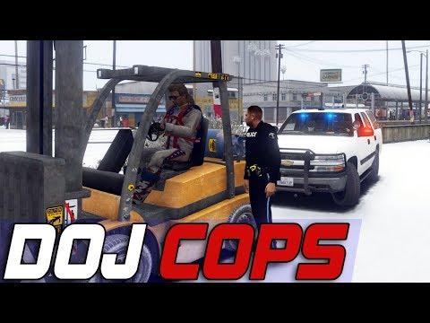 Dept  of Justice Cops #612 - Construction Equipment Violations