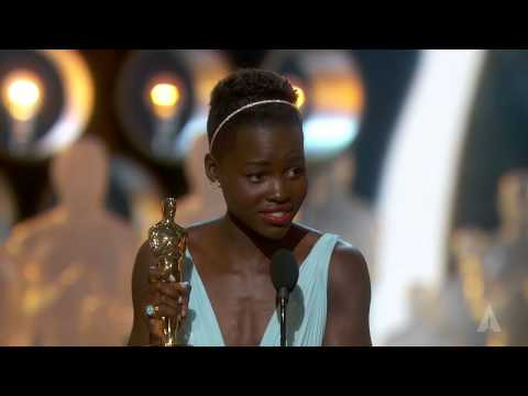 , title : 'Lupita Nyong'o winning Best Supporting Actress'