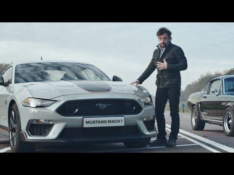 Richard Hammond řídí nový Mustang Mach 1