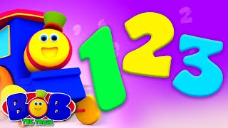 Numbers Song | Kids Learn to Count 1 to 10 | Bob the Train | Learning Videos for Children
