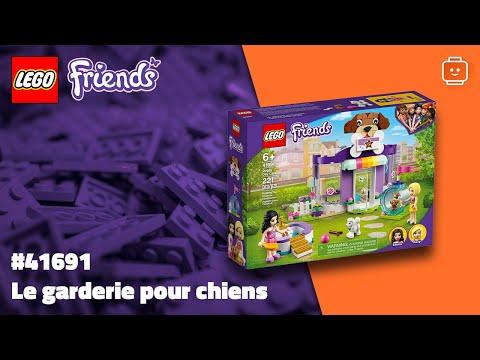 Vidéo LEGO Friends 41691 : La garderie pour chiens