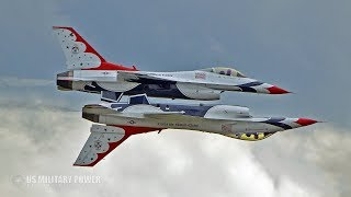 Incredible Video: USAF Thunderbirds Shows its Insane Ability