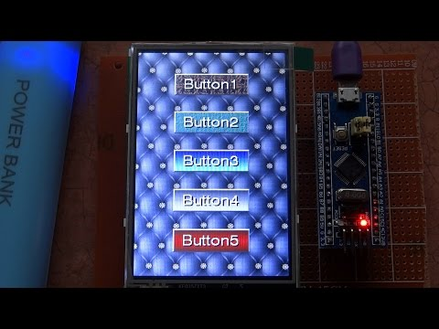STM32 shield for cheap Arduino Uno parallel TFT displays