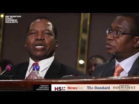 WATCH: Full RBZ Monetary Statement