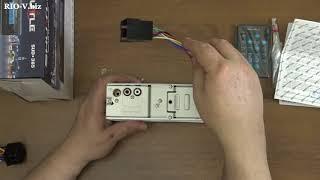 Видео Автомагнитола SHUTTLE SUD-365