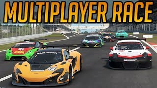 Project Cars 2 Mad Multiplayer Race!