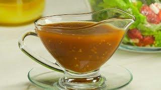 Оригинальный соус для овощного салата. Рецепт от Всегда Вкусно!