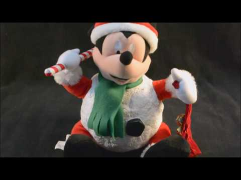 gemmy disney mickey mouse animated snowball deck the halls youtube - Youtube Mickey Mouse Christmas