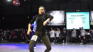 Solo Battles Selina Hinzmann Deutschland Cup HipHop 2015 Tanzschule Familie Bothe