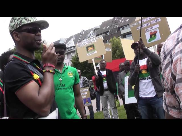 Biafrans in Germany/Düsseldorf Nr.4