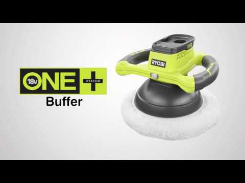 Ryobi ONE+ 18V Cordless Buffer Introduction Video