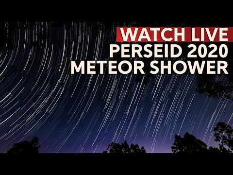 WATCH: Perseid Meteor Shower 2020