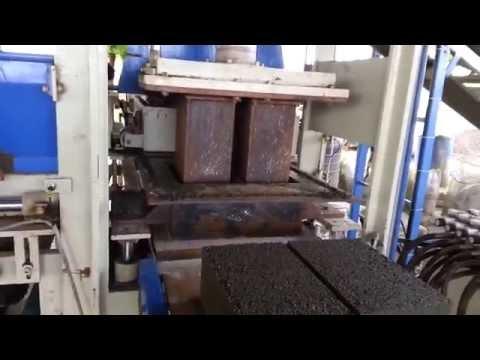 BHS-403I4 Vibro with Pressure Paver Block Making Machine