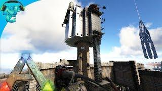 World War ARK - 2 Men 1 Base Raid the Lighthouse Tower Base! E13 ARK Survival Evolved