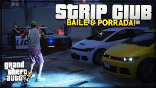 GTA V - Vida Ostentação #2 - CORRE no Posto & Baile no Strip Club ft. CAMBADA!
